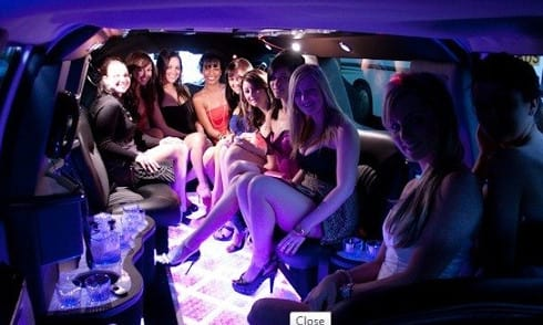 NYC Strippers in Limo or Party Bus, bachelor party nite